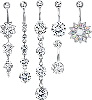 Best pictures of fake belly button rings Reviews