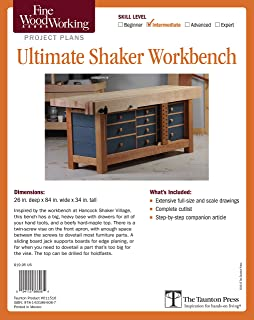 Best shaker woodworking bench Reviews