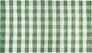 Best green plaid area rug Reviews