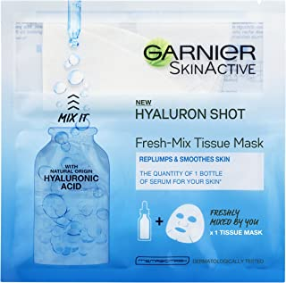 Garnier Fresh-Mix Face Sheet Shot Mask with Hyaluronic Acid 33g