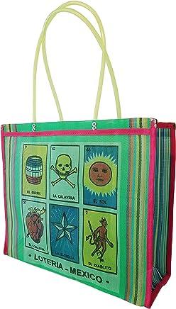 La Lotería -VERDE-. Bolsa de Mujer tipo Malla Multiusos, 38 x 35