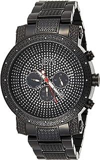 JBW Luxury Men's Victor 16 Diamonds Pave Dial Detail Chronograph Watch - JB-8102-G
