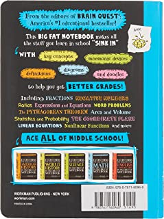 Ace Math in One Big Fat Notebook: The Complete Middle School Study Guide