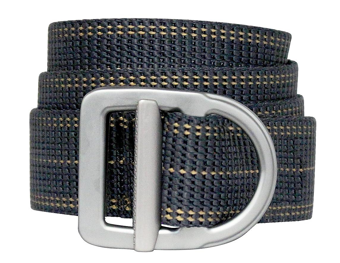 Bison Designs Delta Belt - by - Light Duty 38mm - USA Made - Navy Stripes, Line Navy, up to 38