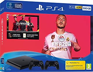 Sony PS4 500GB Fifa20 with Extra Dualshock Controller