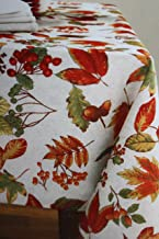 Thanksgiving Fabric Tablecloth - 60 X 102- 100% Polyester
