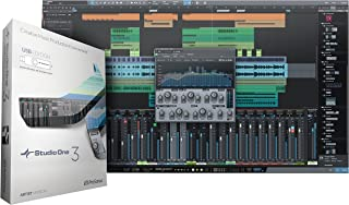 PreSonus Studio One 3 Artist Recording and Production Software (USB Media Inside)