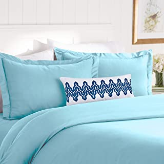 Elegant Comfort Best, Softest, Coziest Duvet Cover Ever! 1500 Thread Count Egyptian Quality Luxury Super Soft Wrinkle Free 2-Piece Duvet Cover Set, Twin/Twin XL, Aqua