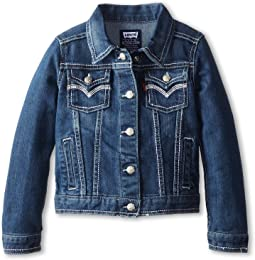 Levi's® Kids Tanya Thick Stitch Denim Jacket (Little Kids)