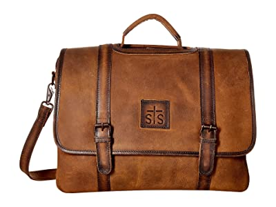 STS Ranchwear The Foreman Dispatch Case (Brown) Handbags