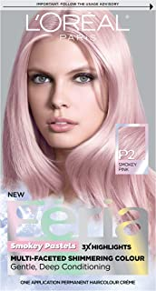 L'Oreal Paris Feria Multi-Faceted Shimmering Permanent Hair Color, Pastels Hair..