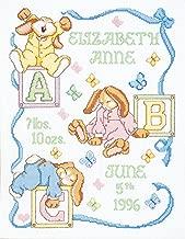 Janlynn 242077 Sleepy Bunnies Sampler Counted Cross Stitch Kit-11
