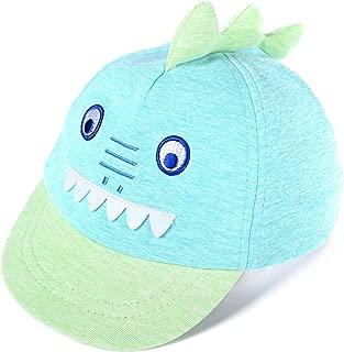 accsa Baby Boy Baseball Cap Novelty Animal Soft Peak Foldable Age 6-18 Months