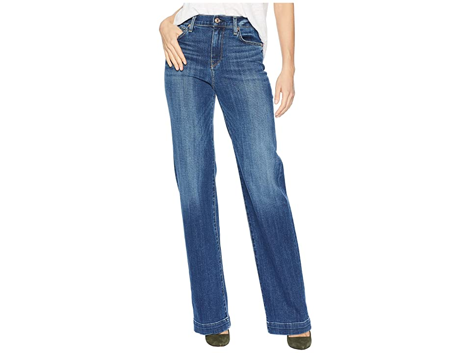 Image of 7 For All Mankind Alexa in Broken Twill Vanity (Broken Twill Vanity) Women's Jeans