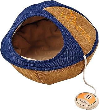Hunter Dublin Cat Cave 42 X 42 X 32 Cm Blue Amazon Co Uk Pet Supplies