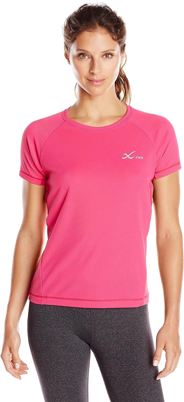 CWX Conditioning Wear Women's Short Sleeve Ventilator Mesh Top