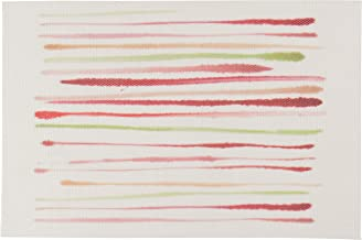 Now Designs Brushstroke Placemats, Candy, Set of 4