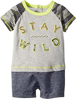 Mud Pie - Stay Wild One-Piece (Infant)