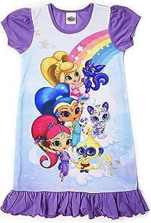 Disney Camisón para Chicas De Princesa Personajes De