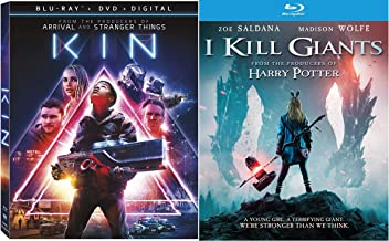 Teen Science Fiction Modern Masterpieces: Kin (Blu-Ray/ DVD/ Digital) + I Kill Giants (Blu-Ray)