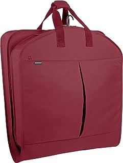WallyBags Sac de Transport pour vêtements de Voyage et Occasions spéciales avec Deux Poches, Rouge (Rouge) - 805 Red