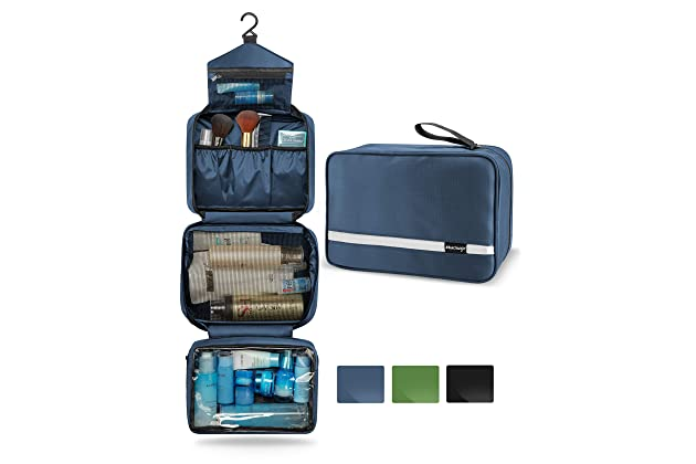 aecaf8eb5f05 Best hanging toiletry bags for travel | Amazon.com