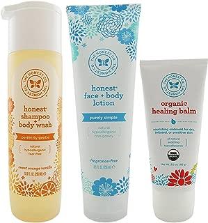 Honest Co Shampoo, Lotion, and Healing Balm