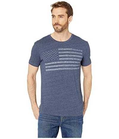 Lucky Brand USA Flag Graphic Tee Men