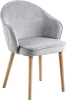 Amazon Brand - Movian Sils - Silla de comedor 465 x 63 x 80 cm gris