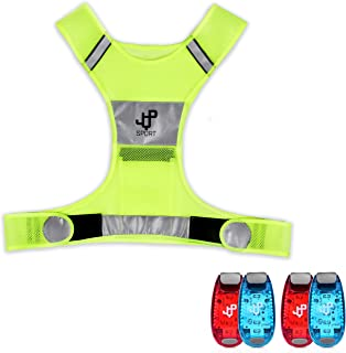 JQP Sports Running Vest and 4 LED Safety Light Sets The...