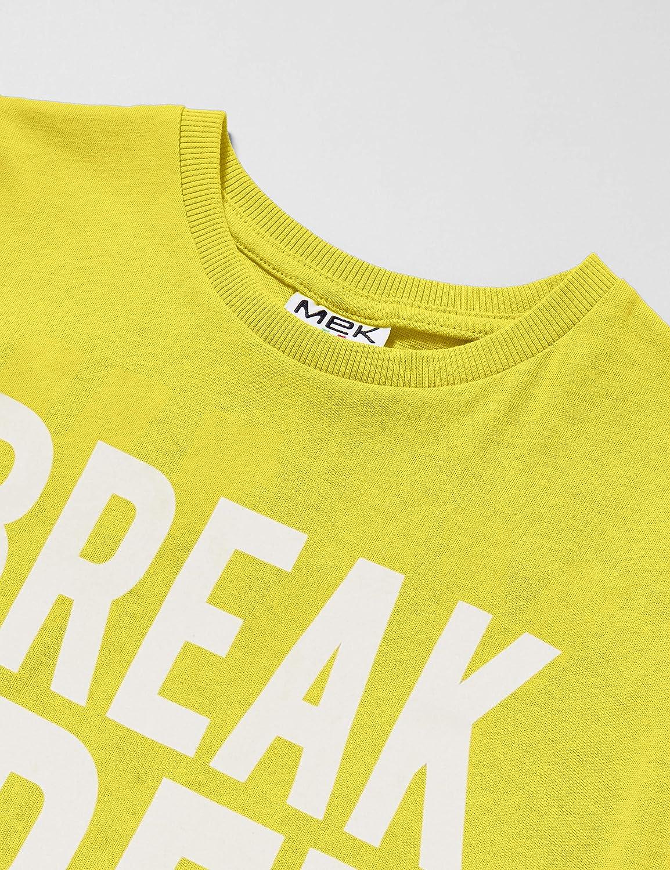 Mek T-Shirt Jersey Legg con Grafica Bambino