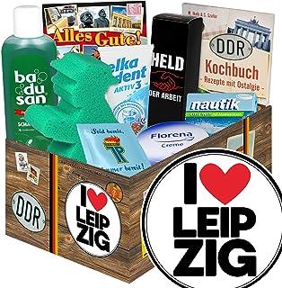 I love Leipzig / Geschenk Leipzig / Pflege Geschenkbox DDR