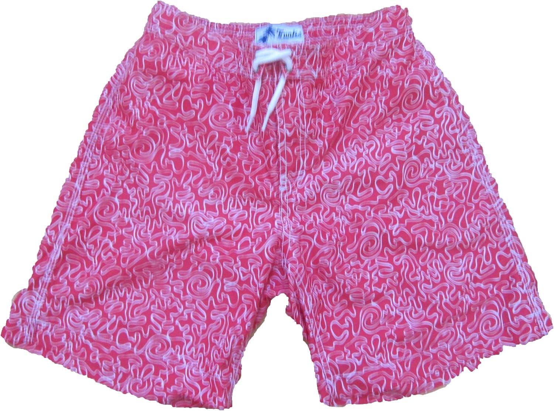 Trunks Swami Shorts Boys Size Large Sqig/Ruby