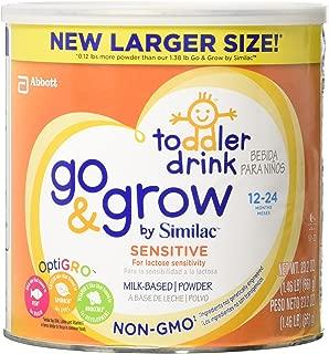 Similac Go and Grow Sensitive Non-GMO Milk Based Toddler Drink, Powder, 24 Ounce