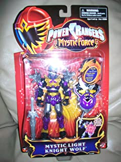 Power Rangers Mystic Force Mystic Light Knight Wolf Action Figure MOC NEW