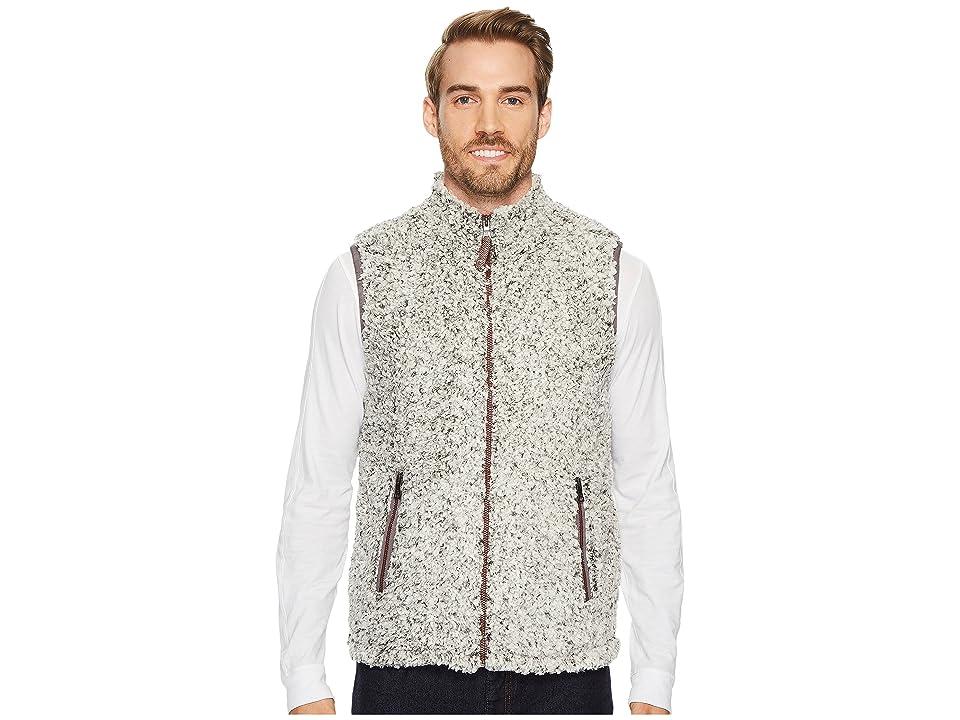 True Grit Frosty Tipped Pile Double Up Vest (Charcoal) Men