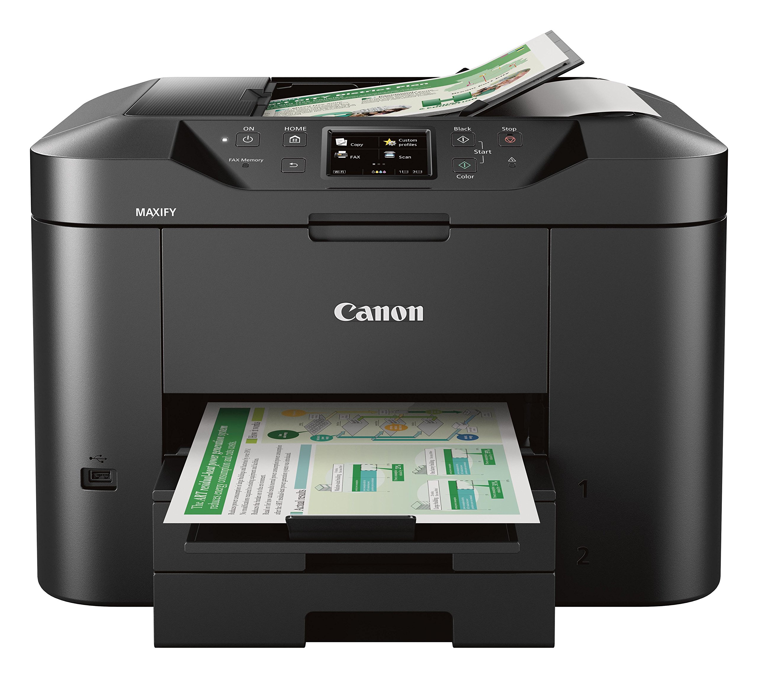 Canon Business MB2720 Wireless Printing
