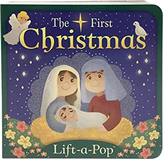 The First Christmas: Lift-a-Pop Board Book