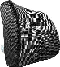 PharMeDoc Memory Foam Lumbar Support for Office Chair & Car Seat - Orthopedic Seat Cushion - Ergonomic Lumbar Pillow Design