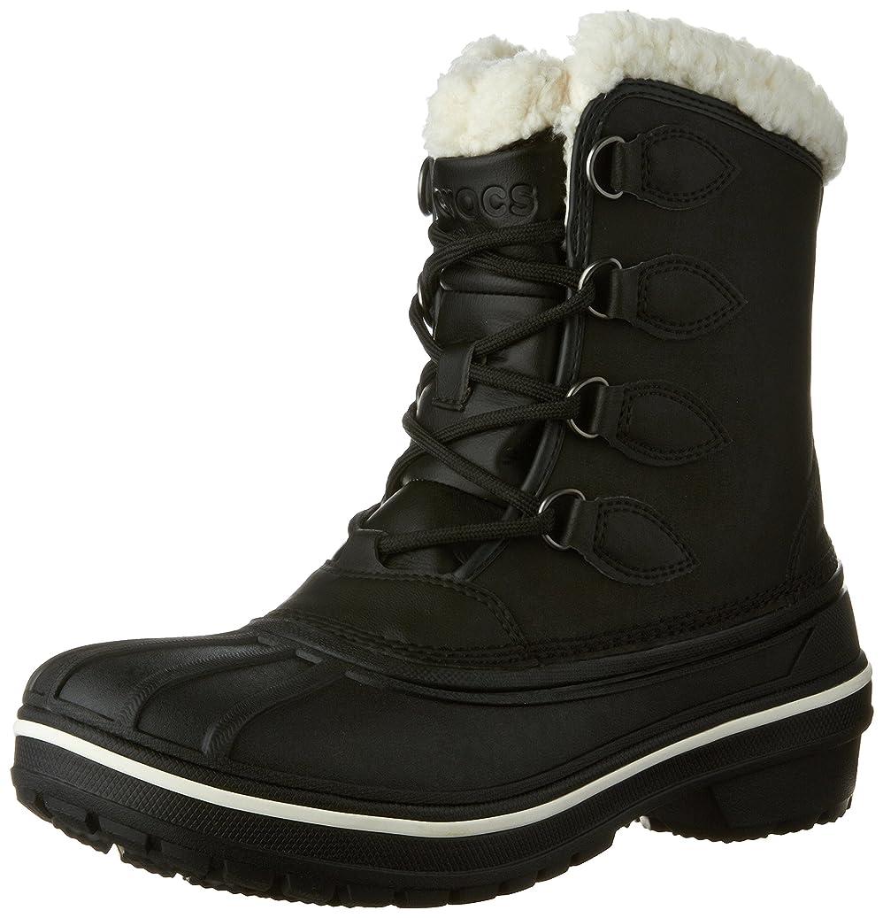 羊あいまい才能のある[Crocs] クロックスWomen 's AllCast II Snow Boot カラー: ブラック