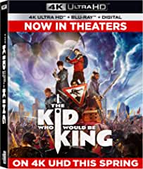 The Kid Who Would Be King arrives on 4K Ultra-HD, Blu-ray and DVD April 16 from Fox