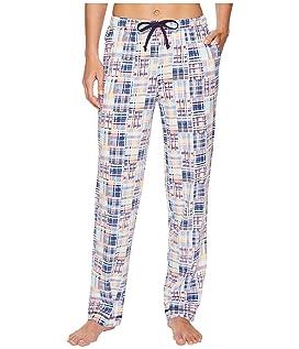 Printed Knit Long Pants