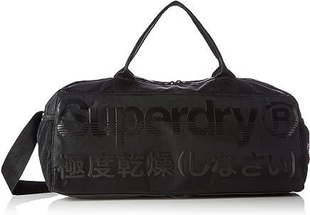 f7ad96f03 Superdry Men's Trackmaster Barrel Bag, Black, One Size