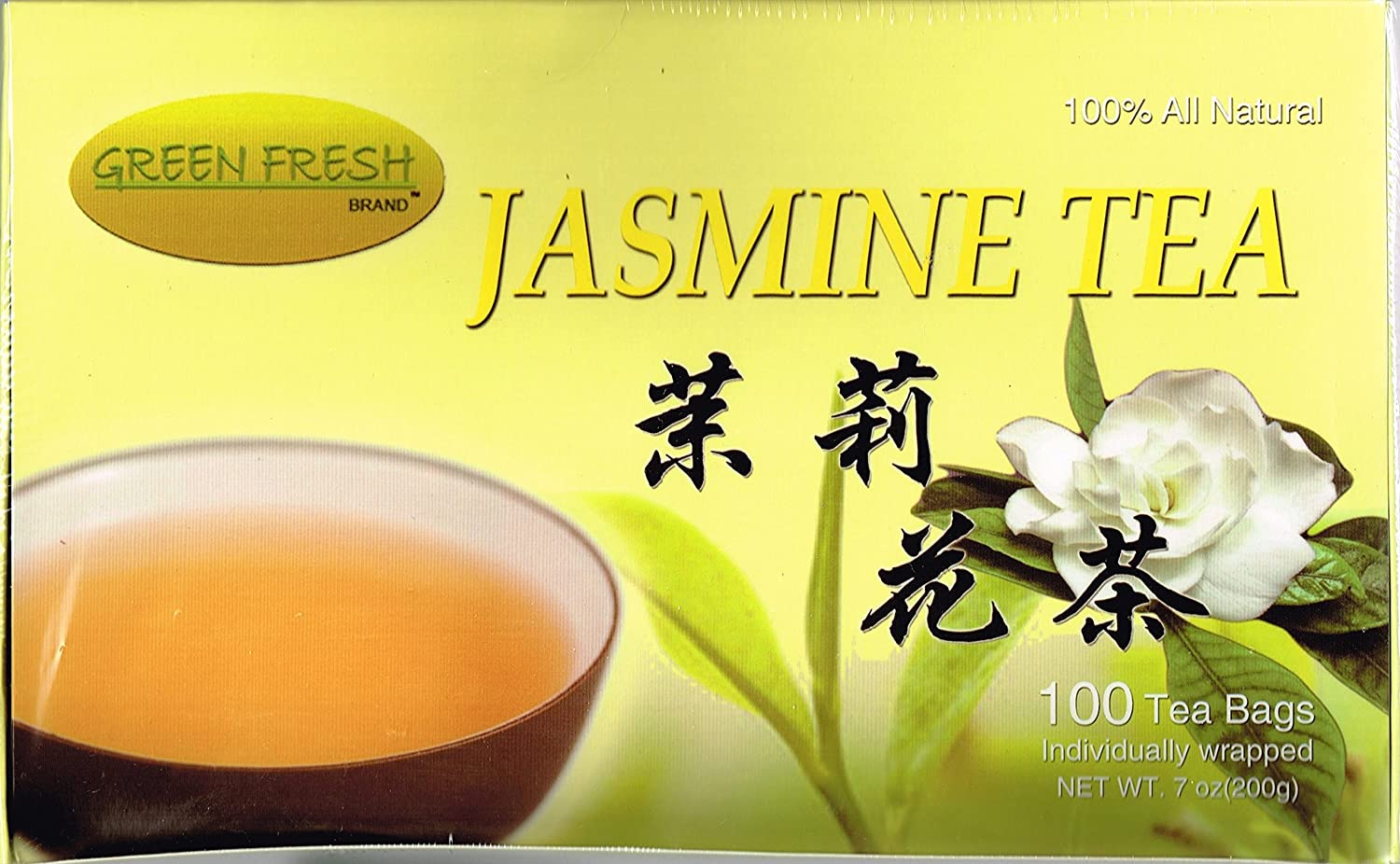 Green Fresh Jasmine Sale Special Price Tea 100% All 100 Natural Bags I Fixed price for sale 200 g