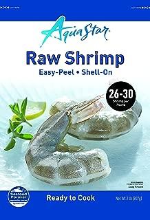 Aqua Star, Raw, Easy-Peel, Shell-on Shrimp, 26-30 Count , 2 lb (Frozen)