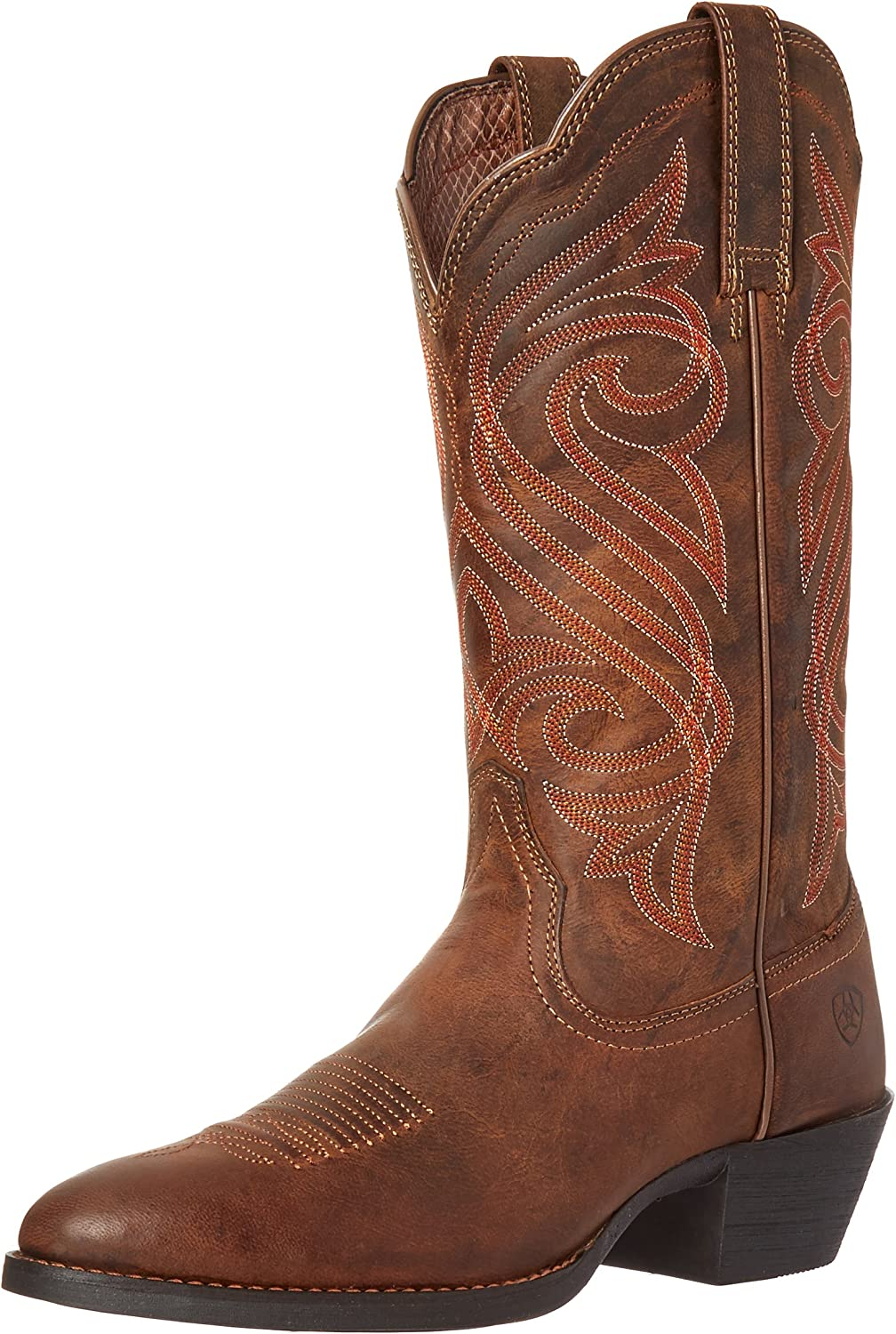 ARIAT Womens Round Up R Toe Western Boot