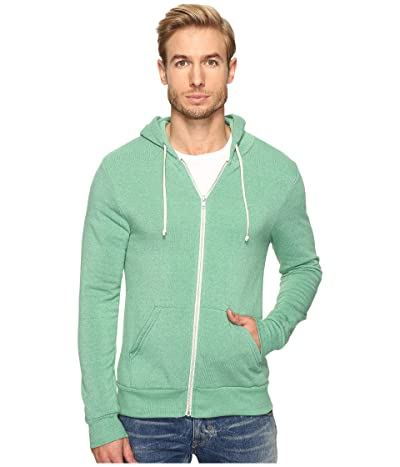 Alternative Rocky Zip Hoodie (Eco True Green) Men