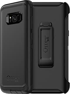 OtterBox Defender Series Case for Samsung Galaxy S8 Plus (ONLY) - Non-Retail Packaging - Black