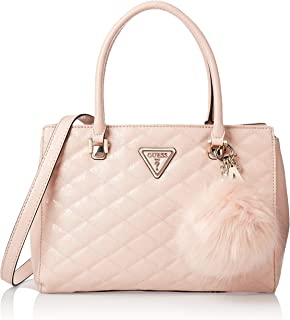 GUESS Women's Satchel Handbag, Blush - SG747909
