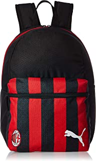 PUMA Mens Acm Ftbl Core Phase Backpack, Black (Black/Tango Red) - 07724204